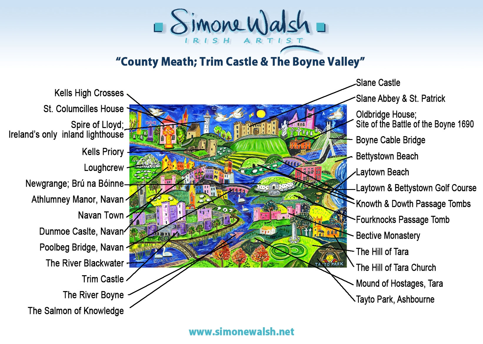 Co Meath Trim Castle to the Boyne Valley  Simone Walsh