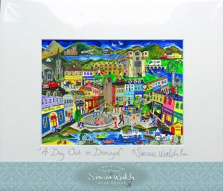 """I have made it up to Donegal! """"A Day Out in Donegal"""" print now available! https://www.simonewalsh.net/product-category/prints/"""