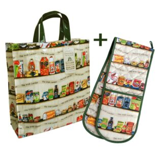 Gifting overseas this Christmas? At Simone Walsh we have discounted some of our iconic gifts which are ideal for sending to loved ones abroad this Christmas. Not only are they so reminiscent of Ireland but they are easy to post too. But be quick - these offers expire in a few days! Enjoy 20% off our iconic Irish Larder Tote & Double Oven Glove Was €47.95, NOW €38 4 Irish Mugs & Matching Coasters. Was €65, NOW €52 20% off Irish Penny Sweets Apron & Double Oven Glove Was €47.95, NOW €38 20% off my Irish Designs on Luxurious Silk Scarves. Was €85, NOW €68 To shop these items just visit www.simonewalsh.net #simonewalshart #buylocal #givethegiftofhome #irelandgifts #sendingoverseas #buyirish