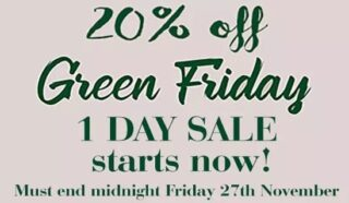 Are you ready to go Green for Black Friday? Our One Day Sale starts NOW, enjoy 20% OFF all original paintings, prints and merchandise but be quick, offer ends at midnight on Friday 27th November. Shop Local - Click Local - Give Local #championgreen #simonewalshartist #irelandgifts #madelocal #buylocal